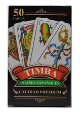 NAIPE TIMBA X50 ESPAÑOLES
